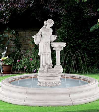 Angella Fountain with Spray Ring