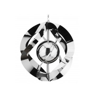 Vogue Hanging Wind Spinner - Silver