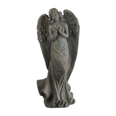 Angel Heart Garden Statue 23""
