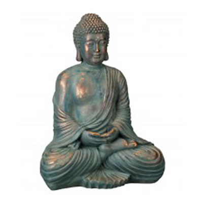 "Buddha Statue 16"" - Copper Patina"