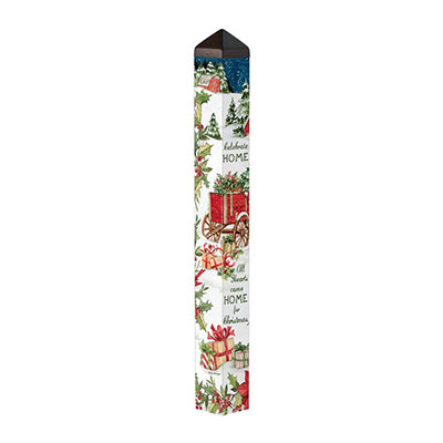 "Carolina Christmas 40"" Art Pole"